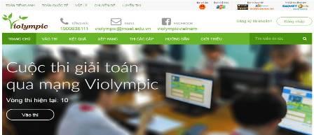 Cuộc thi giải Toán qua mạng Violympic