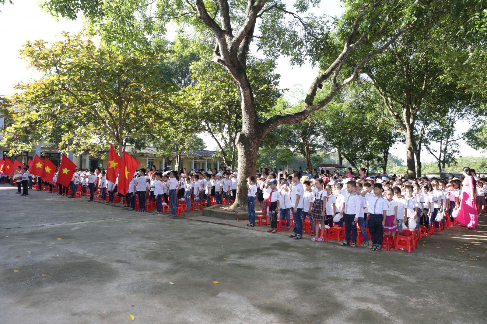 Nghi lễ chào cờ