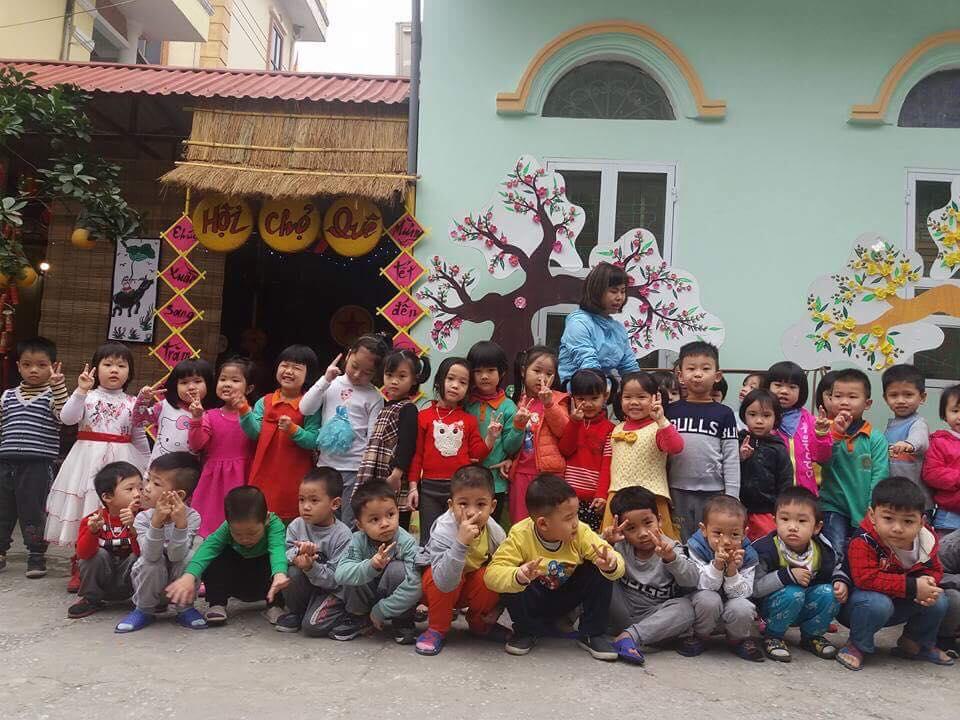 Trường mầm non Trần Hưng Đạo xây dựng môi trường bên ngoài giáo dục lấy trẻ làm trung tâm