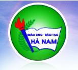 Sở giáo dục đào tạo Hà Nam