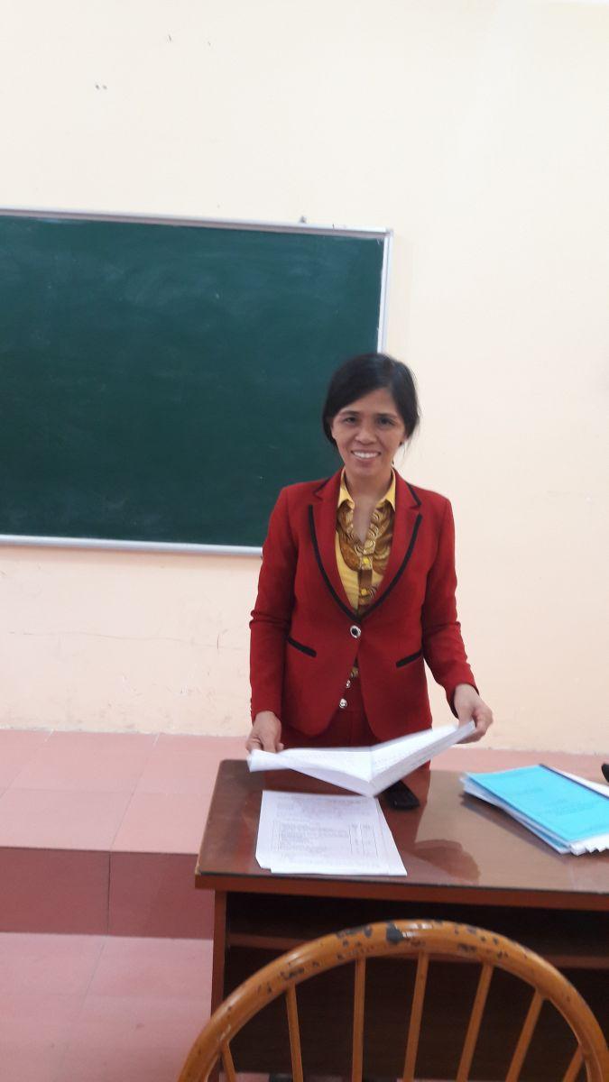 Tổng kết Hội thi Giáo viên giỏi cấp trường