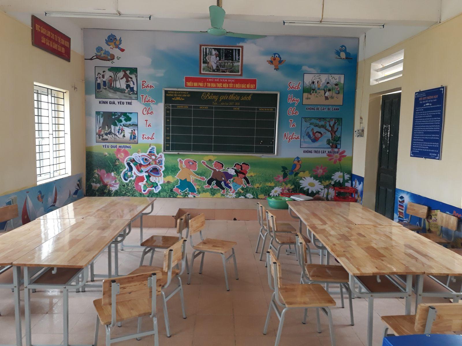 Phòng đọc của học sinh