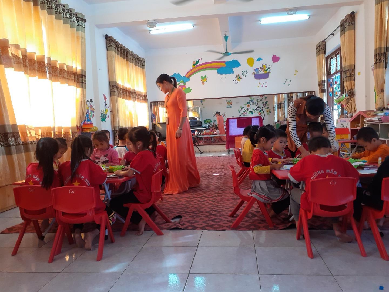 Trường Mầm non Yên Bắc Tổ chức Hội thi giáo viên dạy giỏi cấp trường năm học 2019 – 2020