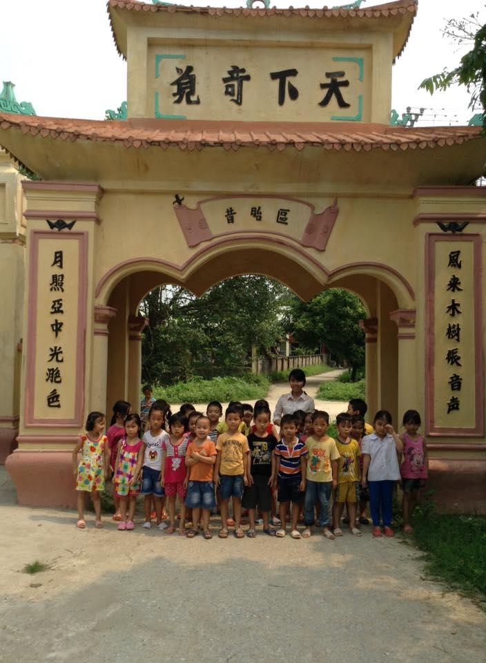 Trường MN xã Đức Lý tổ chức hoạt động ngoại khoá