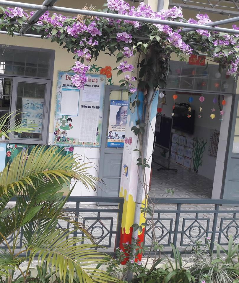 Tạo vườn hoa, cây cảnh tại khuôn viên trường và ven đường