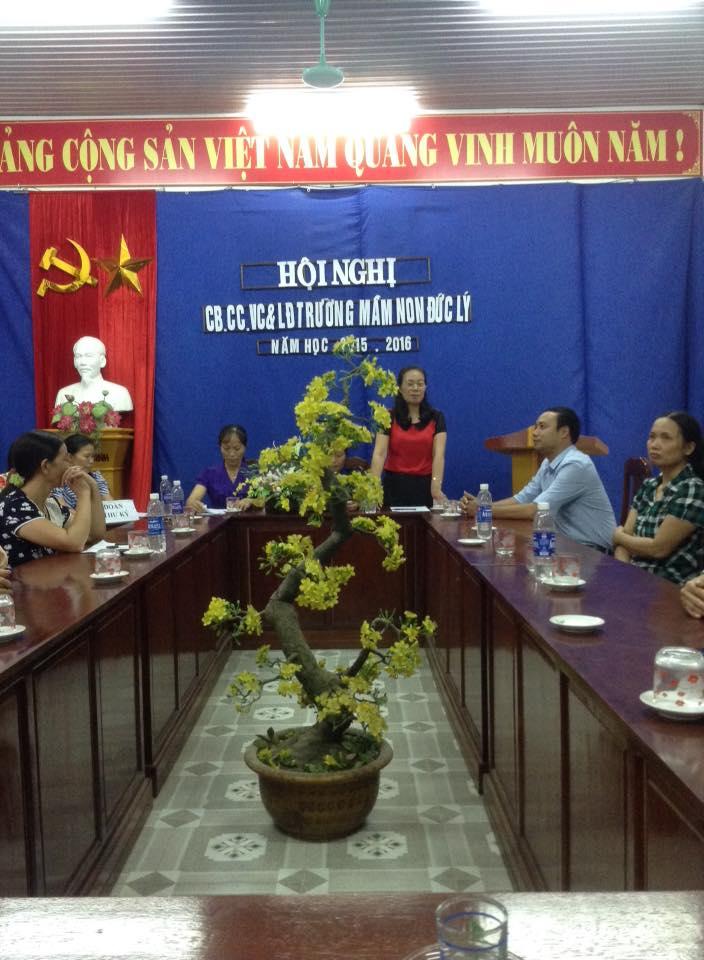 Hội nghị CBCNVC năm học 2015-2016