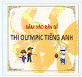 THI OLYMPIC TIẾNG ANH