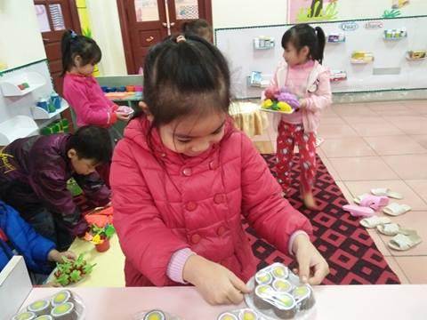 Trường mầm non thị trấn Hòa Mạc xây dựng môi trường giáo dục lấy trẻ làm trung tâm
