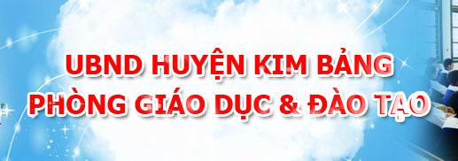 Phòng giáo dục và đào tạo huyện Kim Bảng