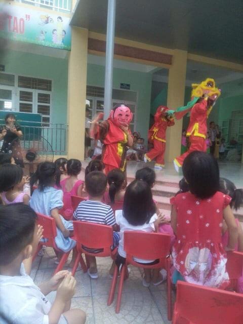 Trường mầm non Liêm Chính 'Vui Tết Trung Thu'