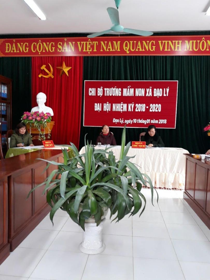 Nghị quyết đại hội chi bộ nhiệm kỳ 2018-2020
