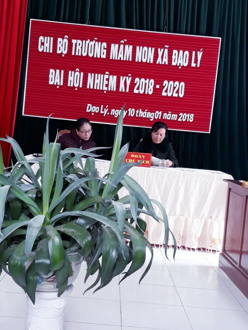 Báo cáo đại hội chi bộ nhiệm kỳ 2018-2020