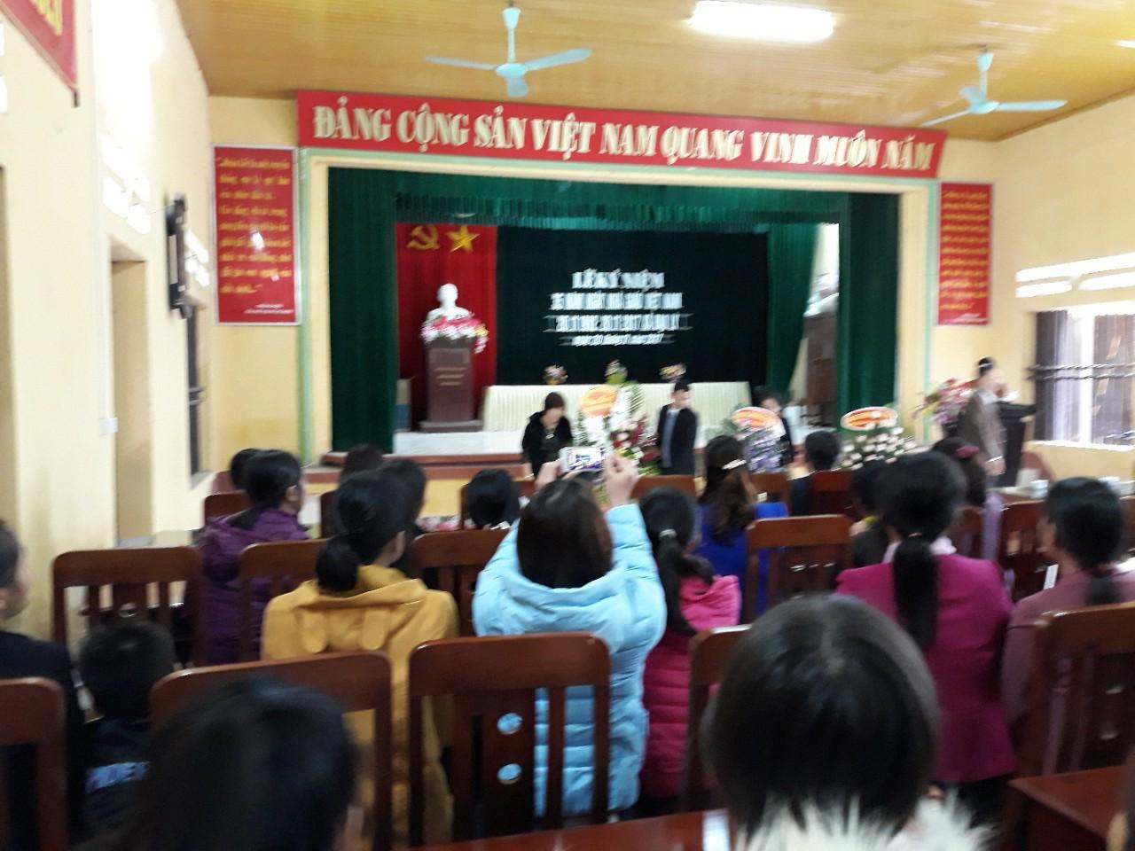 Ngày nhà giáo Việt Nam 20/11 năm học 2017-2018