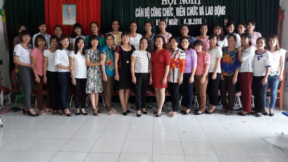 Đại hội cán bộ công chức 2016
