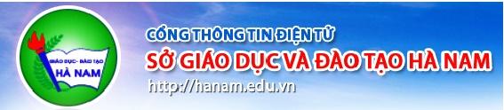 Sở GD & ĐT Hà Nam